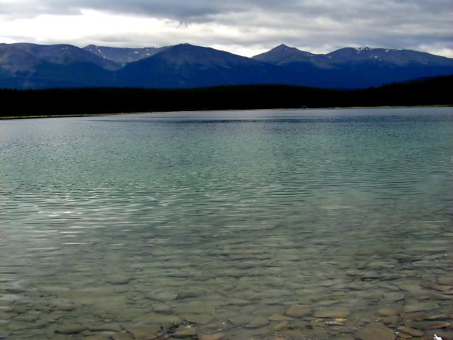 Patricia Lake on the way to Pyramid Lake Photo