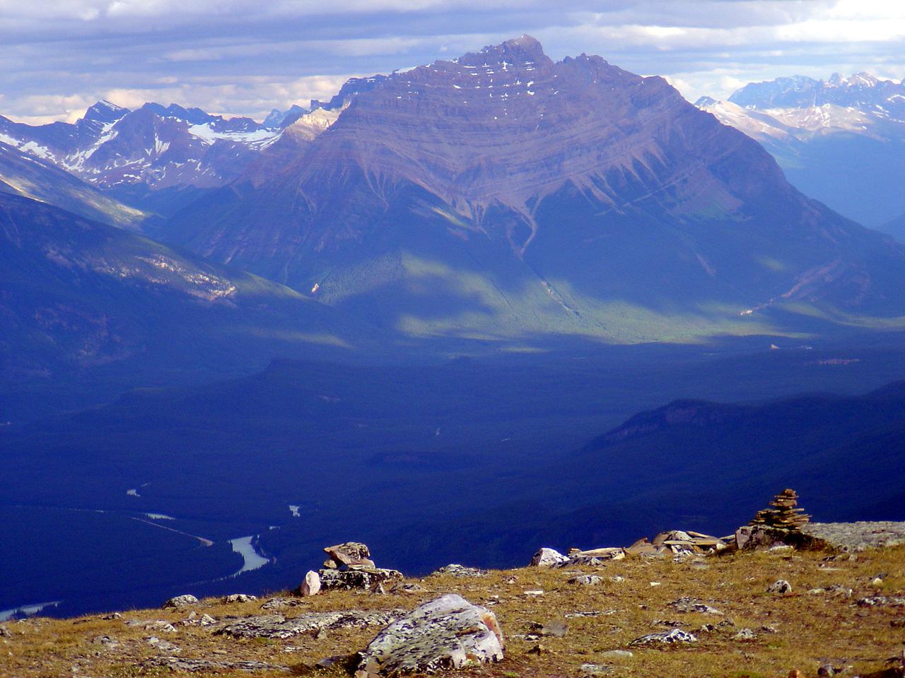 Jasper National Park Photo Crazy View From Whistler S Mtn Dh Wall S Jasper Journal