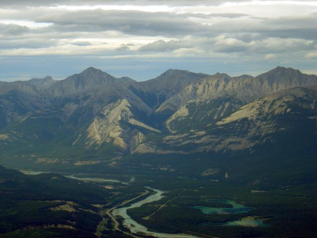 View of the Valley and Yellowhead Highway Photo