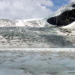 Up close and personal with a glacier - A mountain of ice - Canadian Rockies