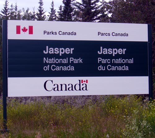 Welcome To Jasper National Park Photo