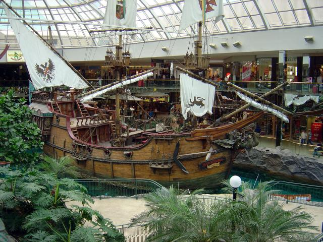Pirate Ship in West Edmonton Mall Photo