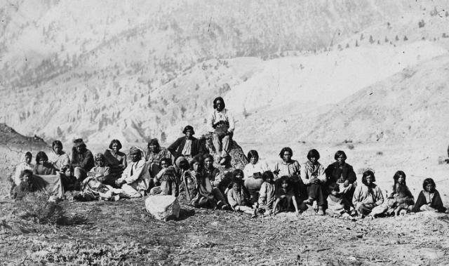 Thompson River Indians Photo