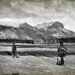 Where it all began:  Jasper House - Jasper House 1872 - Canadian Rockies