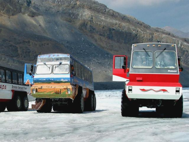 Columbia Icefield Snowcoaches Photo