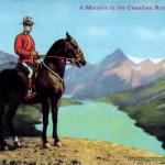 Canadian Mountie in Jasper Park -  - Canadian Rockies