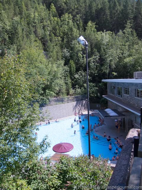 Radium Hot Springs in Kootenay National Park Photo