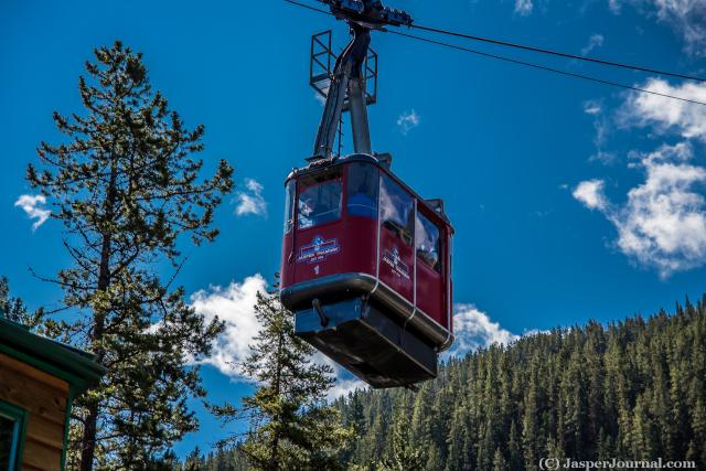 A Jasper Tramway tram Photo