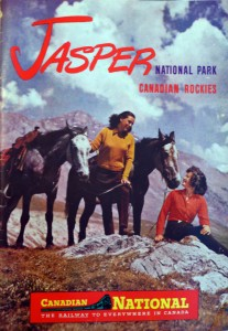 Canadian National's Jasper National Park 1948 brochure cover