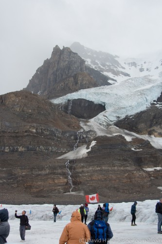 Columbia Icefield Athabasca Glacier ride