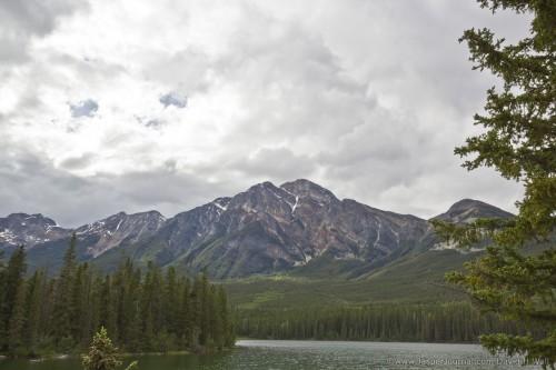 Pyramid Mountain, Lake and Island