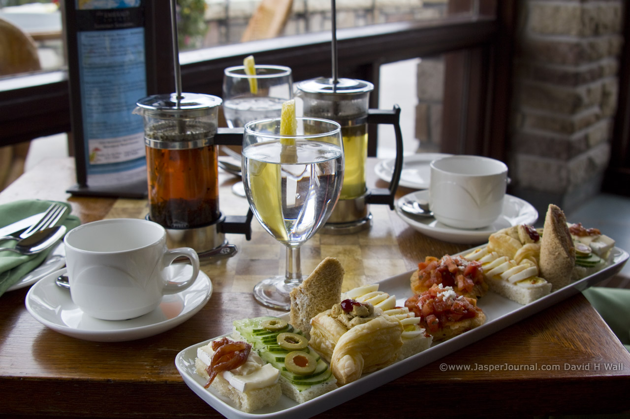 Afternoon Tea At Fairmont Jasper Park Lodge Review 171 Jasper National Park Journal Travel Guide