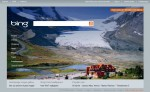Athabasca Glacier on Bing.com homepage