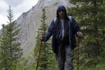 Yours truly hiking on the Sulphur Skyline Trail near Miette Hot Springs in Jasper National Park