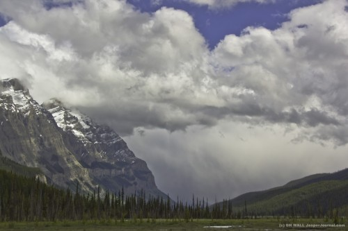 Icefield Parkway in Banff National Park