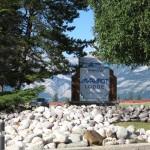 Marmot Lodge Jasper Hotel sign