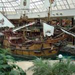 Pirate Ship in West Edmonton Mall - Arrrh! A Pirate Ship in Alberta - Canadian Rockies