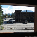 View from my room at Marmot Lodge